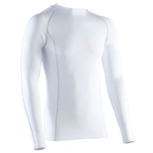 i-sports Base Layer Tops Unisex Compression Shirts Silver Stitch
